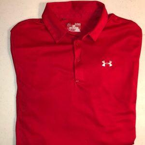 Men XL Under Armour Dry fit short sleeve shirt